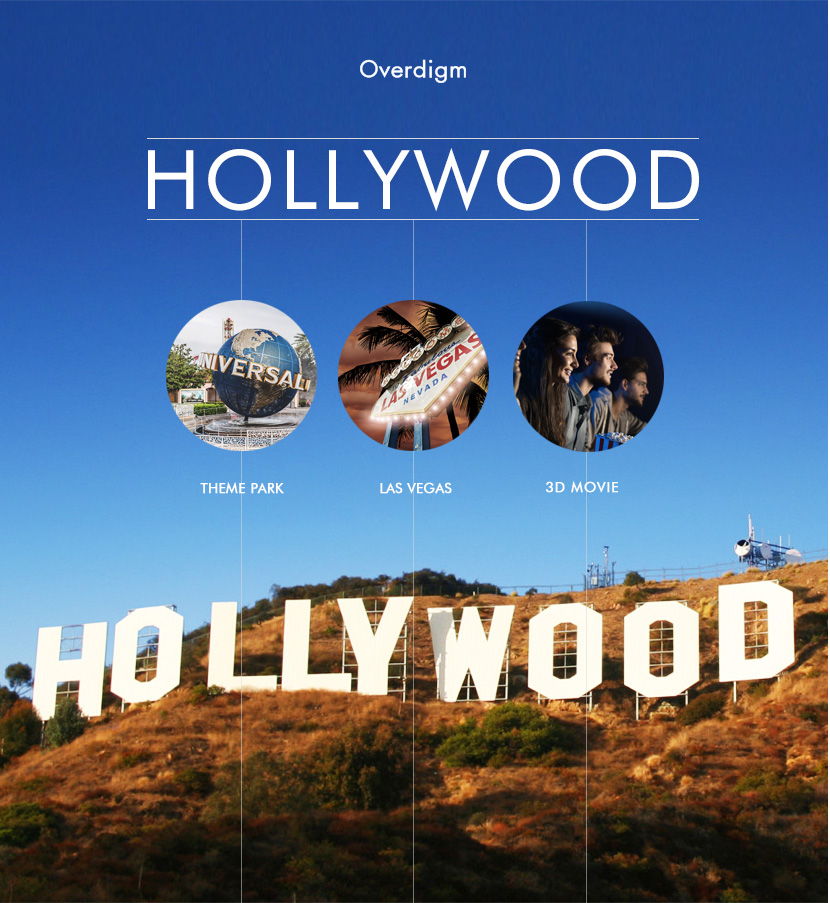 Overdigm In Hollywood, The Center Of Entertainment Business