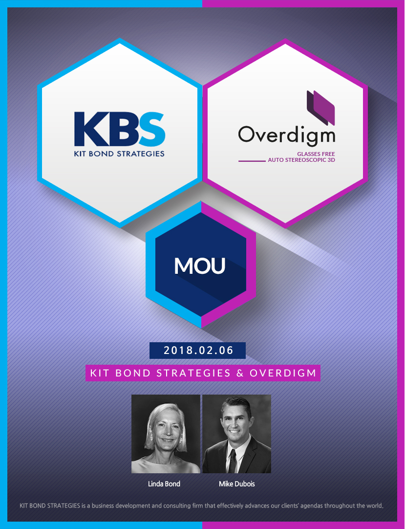 Overdigm Signed MOU With KBS, Consulting Company From USA