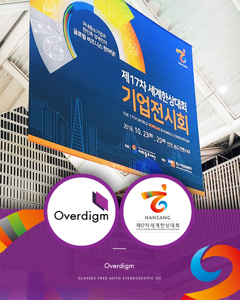 Overdigm, The Hero Of 2018 World Korean Business Convention!