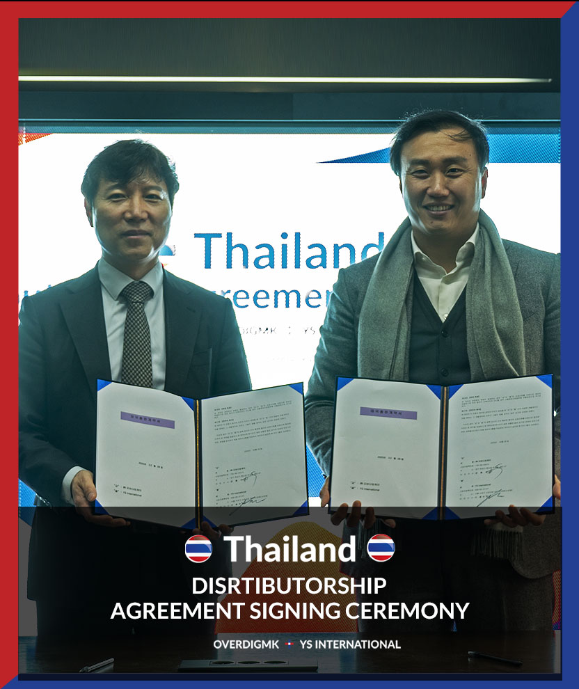 Feb. 28, 2020, Thailand Distributor Contract With YS International